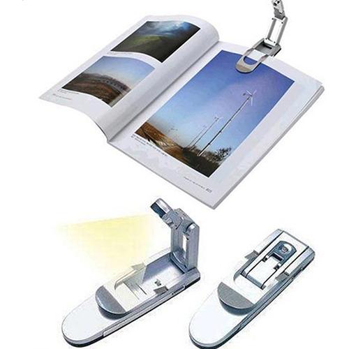 Luz led para libros lectura nocturna con clip evoltapc - Luces de lectura ...
